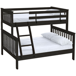 Mission bunk bed. Twin over full