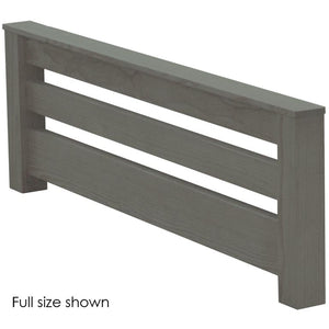 Footboard, TimberFrame Style. Choose from 6 Colours & 3 Widths.