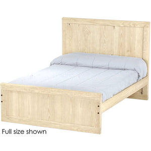 Unfinished, bare wood