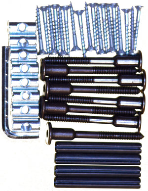 Bunk hardware kit. 70mm connector bolts.