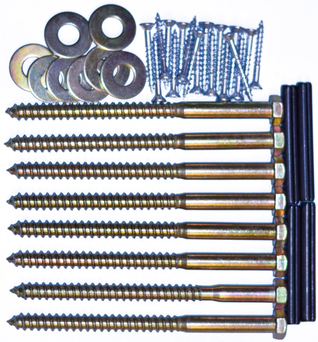 Bunk Hardware Kit 5 1 2in Lag Bolts Crate Designs Furniture