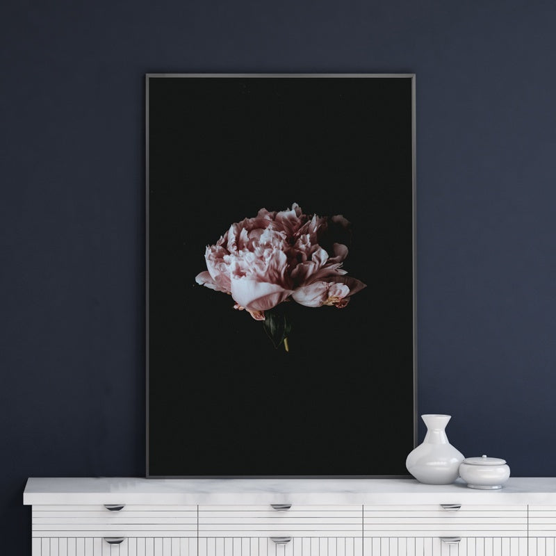 Flower Canvas Painting Wall Art Print