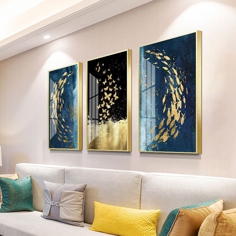 Home-Decoration-Aluminum-Alloy-Metal-Paintings-Frame-Art-Print-Frame
