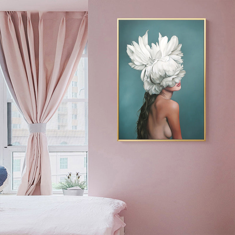 Nordic Style Beauty Girl HD Wall Art Print