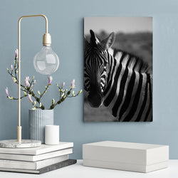 Black-and-White-Horse-Canvas-Painting-Wall-Art-Poster-Modern-Artwork