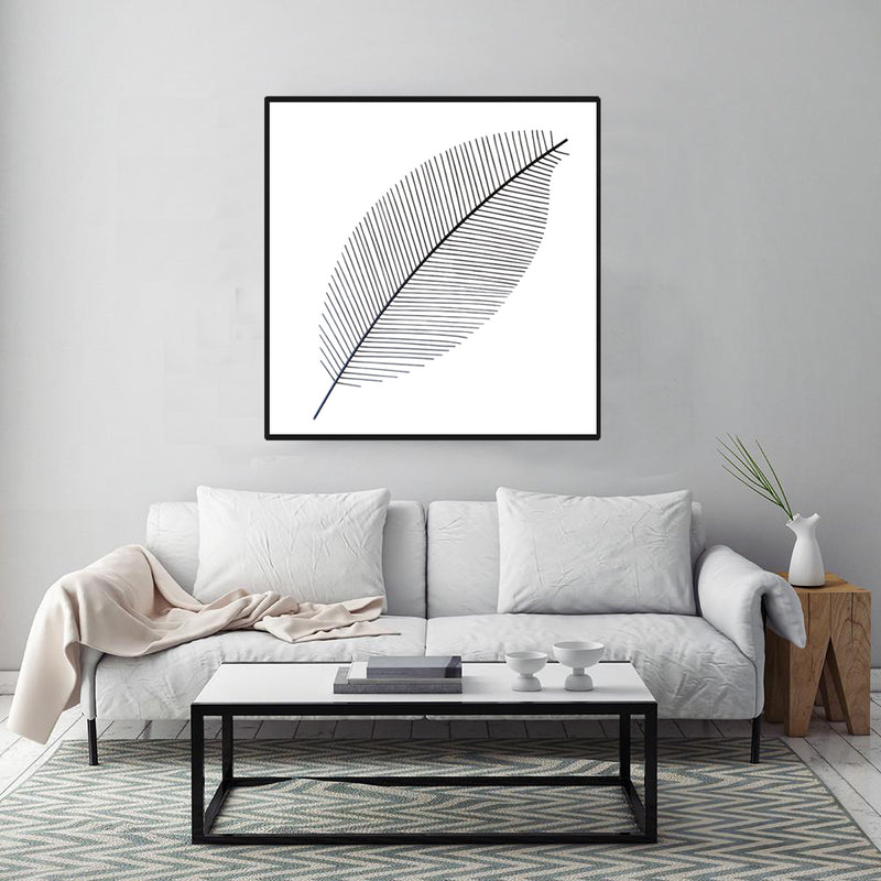 Original-Canvas-Art-Black-and-White-Wall-Painting-Modern-Artwork