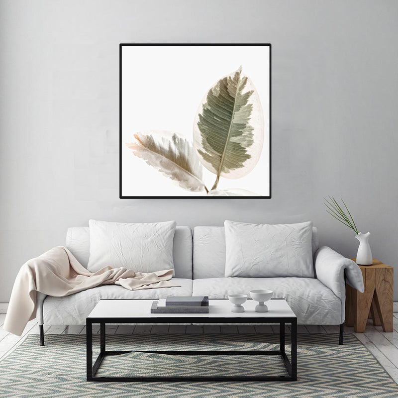Canvas-Painting-Watercolor-Painting-Plant-Leaf-Artwork-Home-Decor