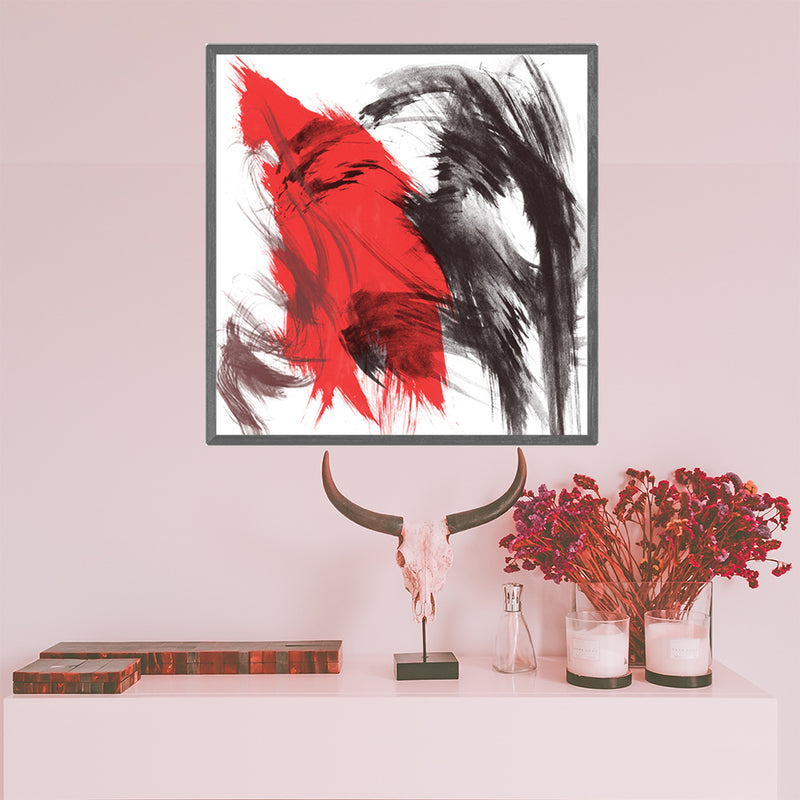 Modern-Minimalist-Decor-Nature-Art-Print-Abstract-Painting-Red-Artwork