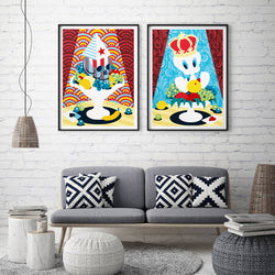 Graffiti-Pop-Art-Painting-Wall-Art-Picture-for-Living-Room-Decor