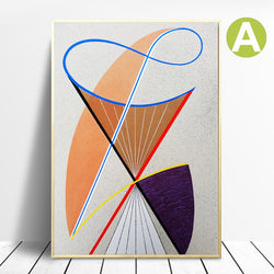 Nordic-Modern-Wall-Art-Poster-Canvas-Painting-Abstract-Line-Art-Print