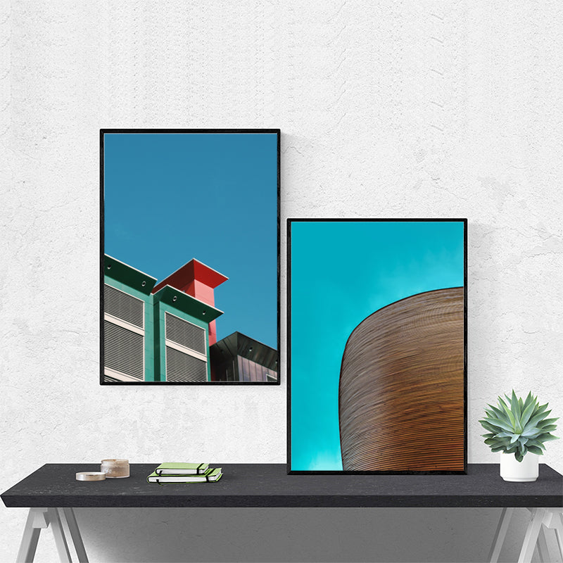 Architecture Nordic Canvas Wall Poster