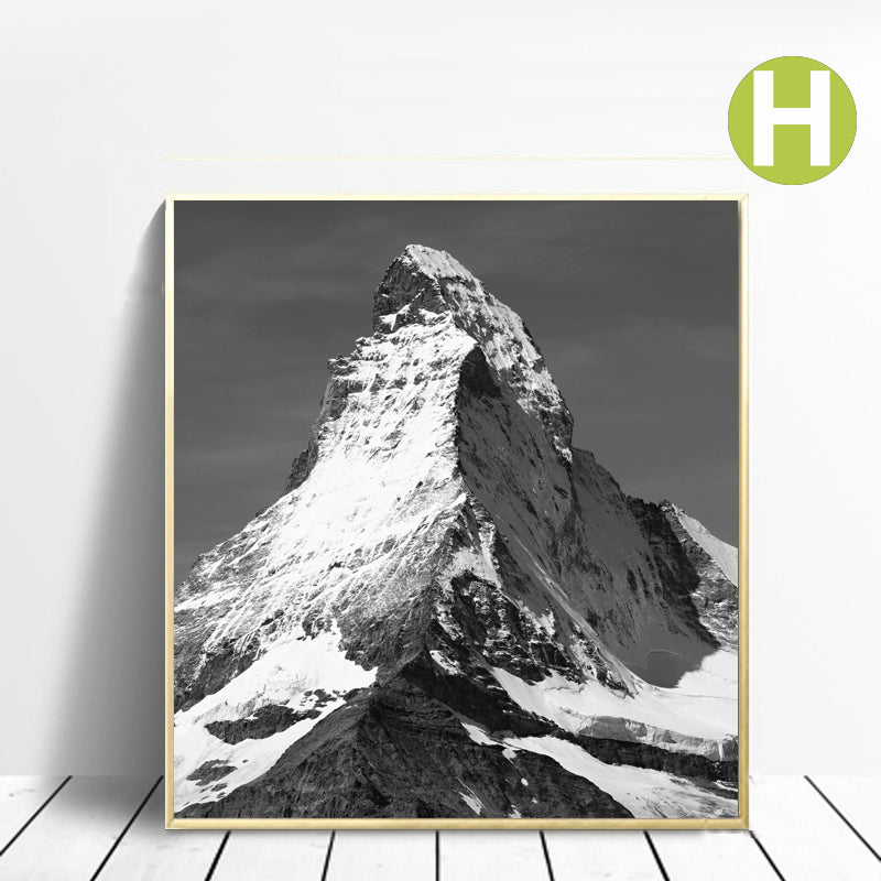 Adventure Alpine Landscape Wall Art Poster