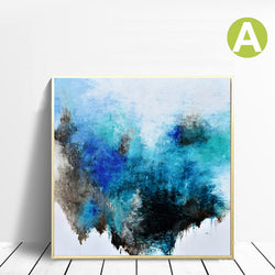 Modern-Abstract-Colorful-Canvas-Wall-Art-Print-with-Embellishment