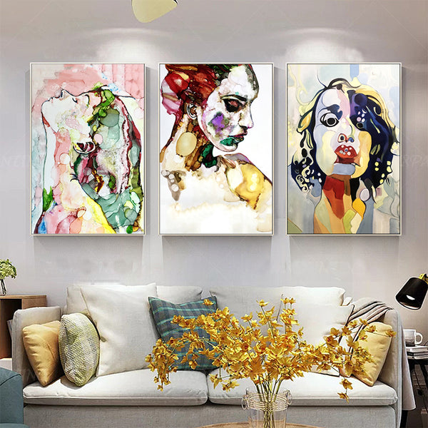 Home-Decor-Figure-Characters-Wall-Art-Canvas-Painting-Print-Poster