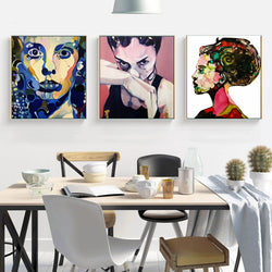 Modern-Art-Woman-Figure-Canvas-Print-Wall-Poster-for-Home-Decor