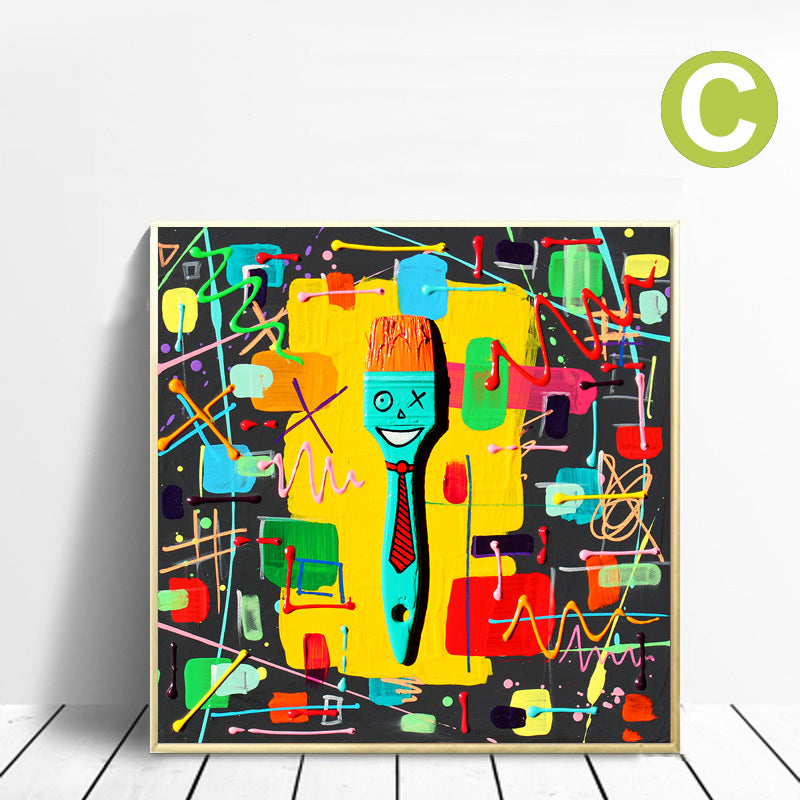 Canvas-Wall-Art-Abstract-Colorful-Color-Block-Modern-Poster-Decor