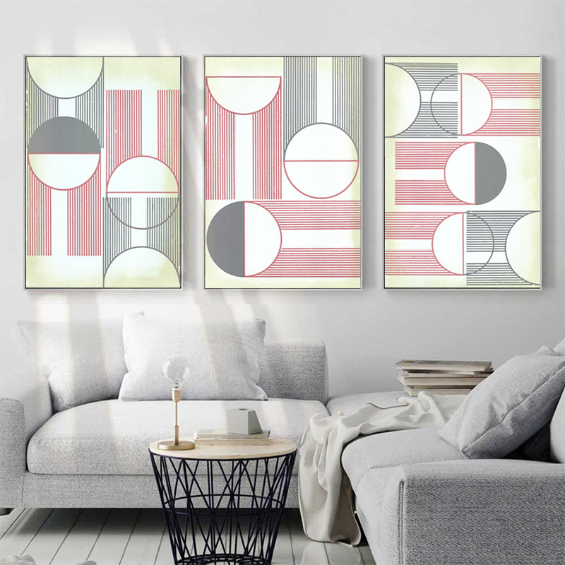 Abstract-Moon-Geometric-Artwork-Canvas-Painting-Print-Wall-Art-Poster