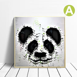 Animal-Wall-Art-Poster-Modern-Panda-Print-on-Canvas-for-Home-Decor
