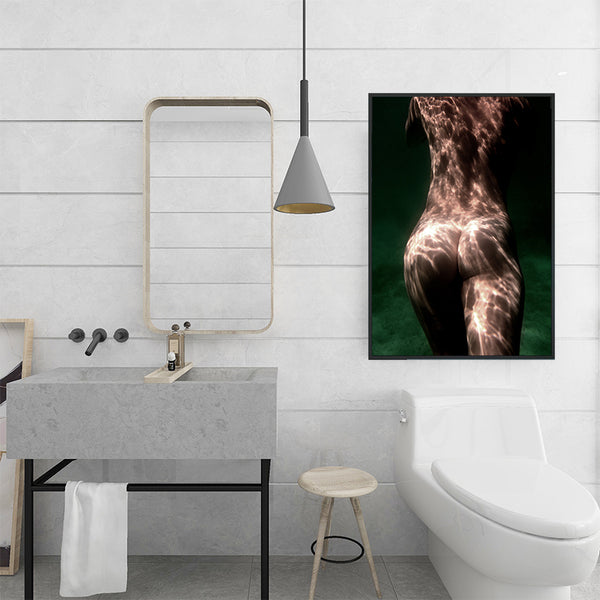 Sexy-Butt-Big-Ass-Nude-Naked-Women-Wall-Art-Canvas-for-Bathroom-Decor