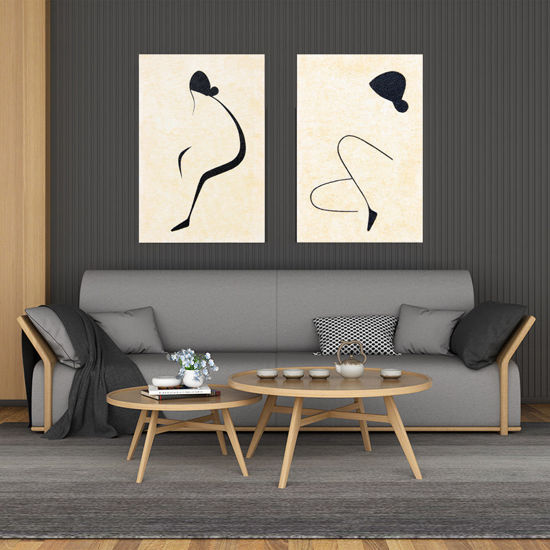 Modern-Women-Naked-Lady-Body-Line-Drawing-Nordic-Canvas-Painting-Print