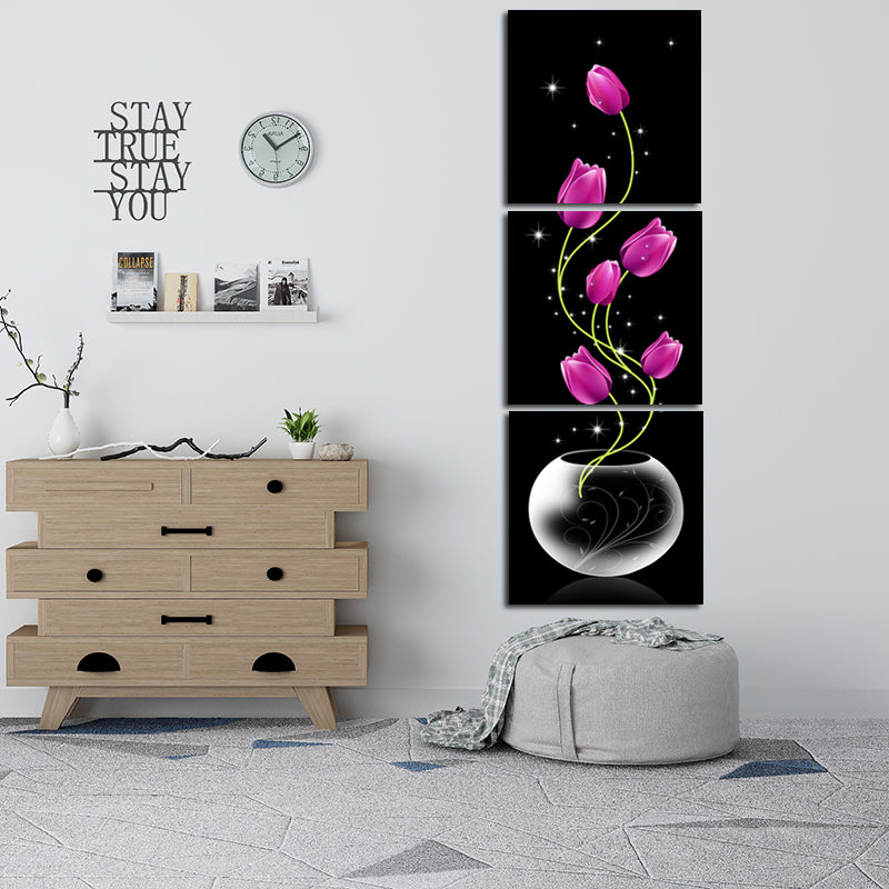 Vertical-Vase-with-Flower-Canvas-print-Corridor-Decor-wall-art-poster