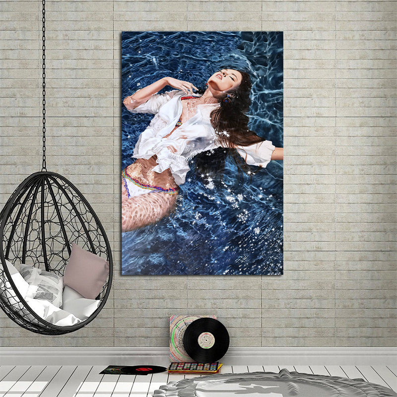 Sexy-Half-naked-Women-Wall-Art-Poster-Canvas-Print-Adult-Picture