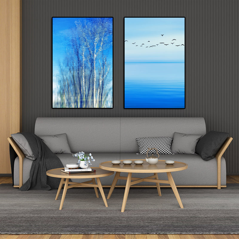 Modern-Artwork-Print-Blue-Ocean-Sea-Wall-Art-Decor-Poster-Canvas