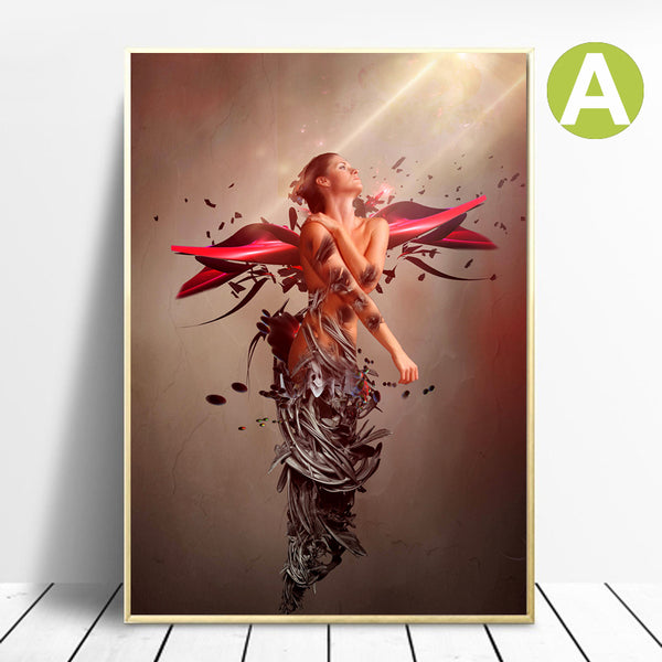 Angel-Women-Modern-Wall-Art-Canvas-Poster-Print-for-Home-Decor