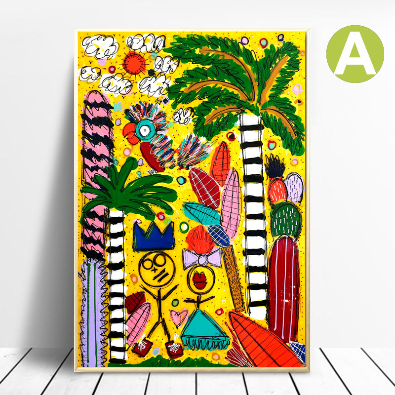 Graffiti-Colorful-Artwork-Wall-Art-Canvas-Poster-for-Nursery-Decor
