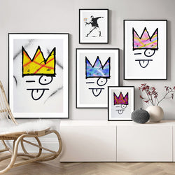 Banksy-Modern-Colorful-Crown-Art-Canvas-Painting-Poster-Wall-Decor