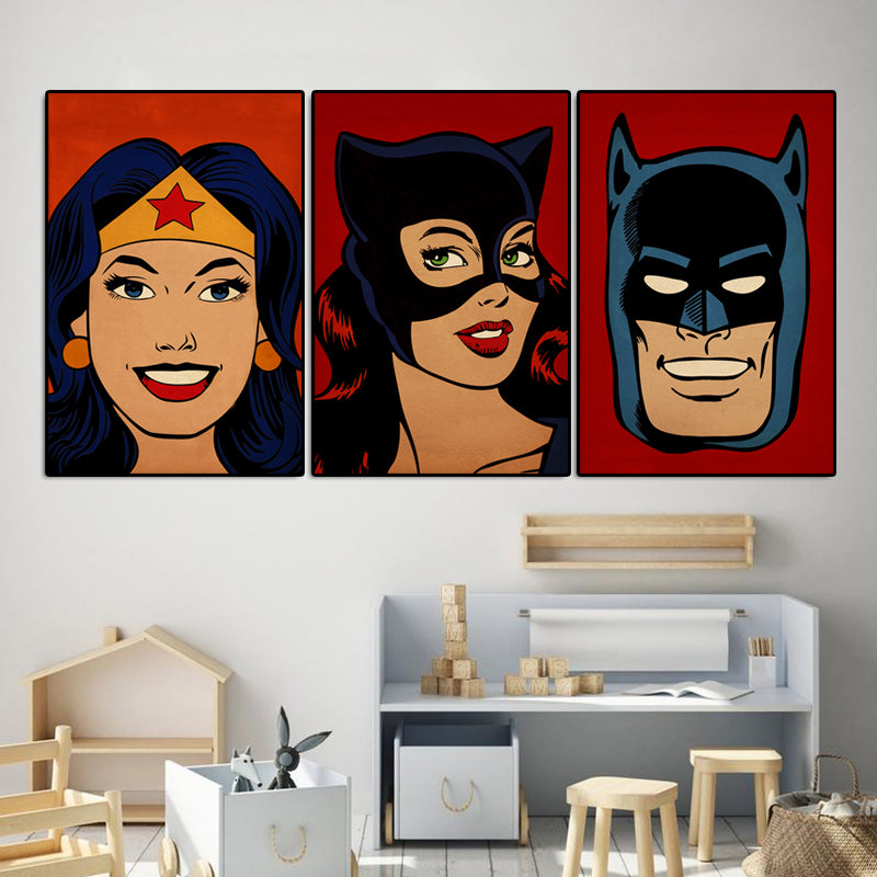 Marvel-Hero-Catwoman-Avengers-Collection-Canvas-Wall-Art-Poster-Decor