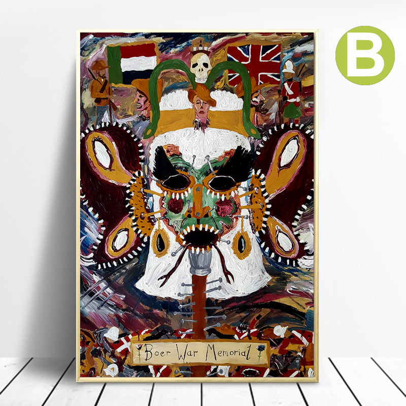 Abstract-Oil-Painting-Artwork-Print-Graffiti-Art-Canvas-Wall-Poster