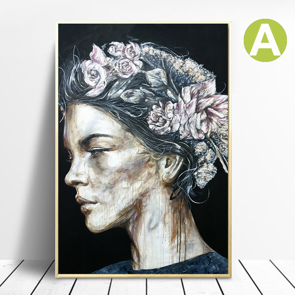 Portrait-Woman-Abstract-Art-Canvas-Wall-Poster-New-Arrivals-Decor-Gift