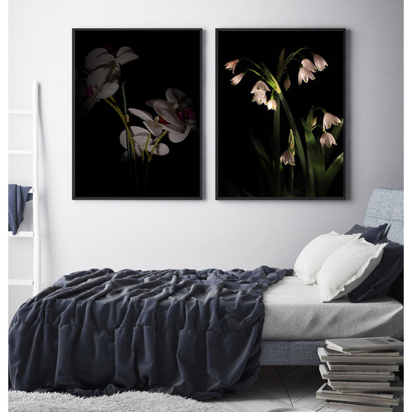 2-pcs-flower-canvas-painting-wall-art-picture-artwork-poster-home-decor