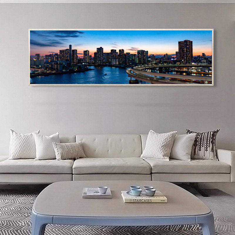Modern-City-Canvas-Painting-for-Wall-Landscape-Print-Living-Room-Decor