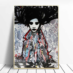 Abstract-artwork-Orientalism-Print-Portrait-Painting-Wall-Art-Poster