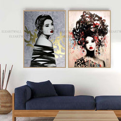 Abstract-painting-Orientalism-Art-Print-by-Hush-Artist-Wall-Art-Poster