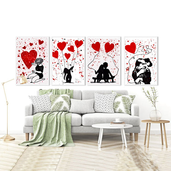 Graffiti-Canvas-Painting-Red-Art-by-Allizzi-Artist-Wall-Prints-Poster