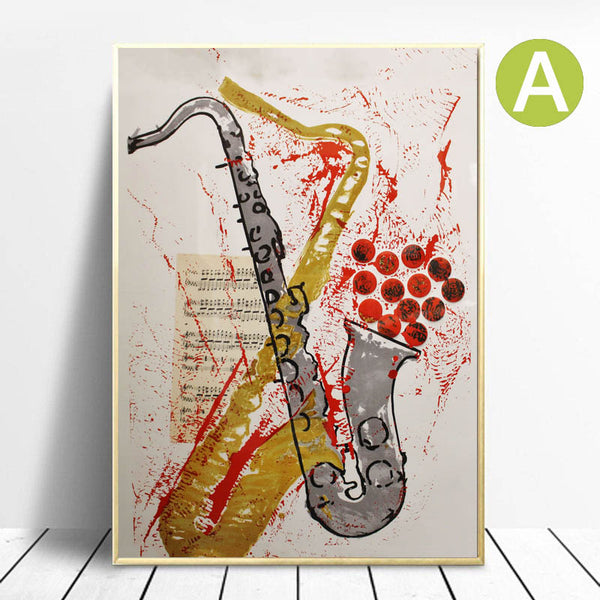 Wall-Art-Poster-for-Sale-Guitar-Artwork-Print-by-French-Artist-Arman