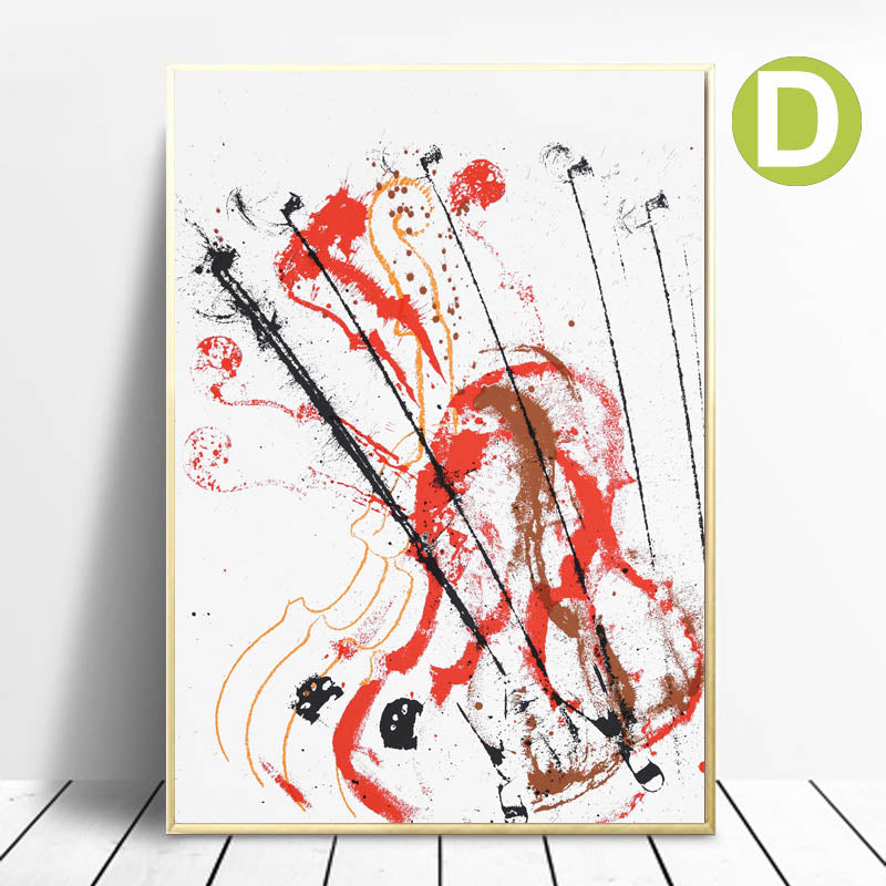 Wall-Art-Print-Poster-Decor-Melody-for-Strings-by-French-Artist-Arman
