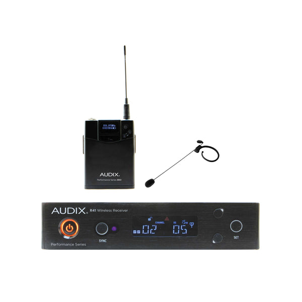 "Audix AP41 HT7 Headset Wireless System Beige ""B"" Band 554 MHz - 586 MHz"