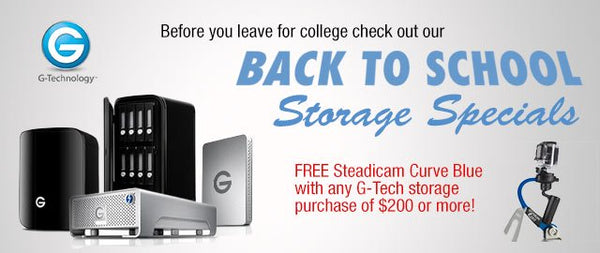Back to School Storage Special!