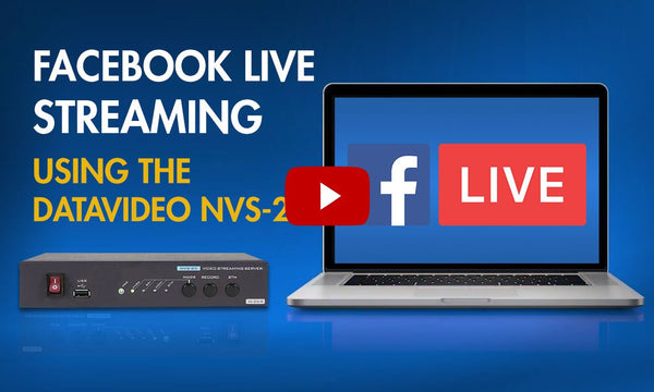 Check out these Datavideo NVS-25 Streaming Tutorials