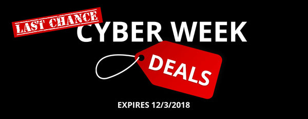 Last Chance for Videoguys Black Friday & Cyber Week Specials