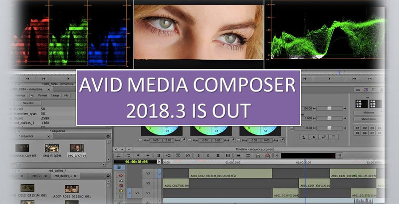 What's New for Avid Media Composer v2018.3?
