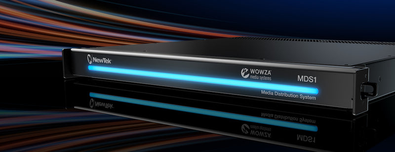 NewTek and Wowza Launch Global and Local Media Distribution System