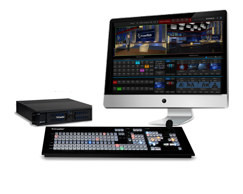 NewTek TriCaster 460 Promotional Bundle with Advanced Edition Software and 860 Control Surface
