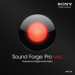 Hands On with Sound Forge Pro Mac and SpectraLayers Pro from Sony Creative Software