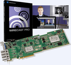 Videoguys Bundle: Matrox Multi Ingest Card with Telestream Wirecast Pro (Mac) $4,495