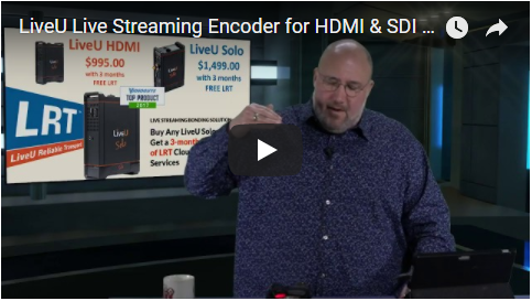 LiveU Solo HDMI Live Streaming in the Field Webinar